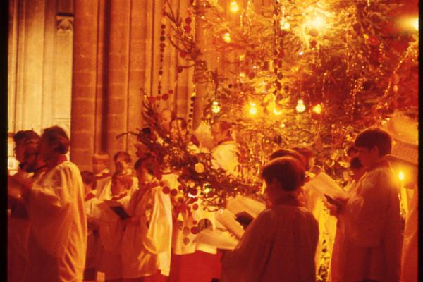 Christmas at Winchester Cathedral through the centuries
